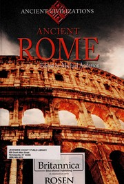 Cover of: Ancient Rome | Anderson, Michael