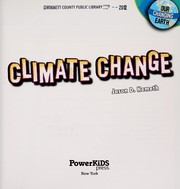 Cover of: Climate change