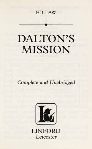 Dalton's mission by Ed Law