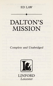 Cover of: Dalton's mission | Ed Law