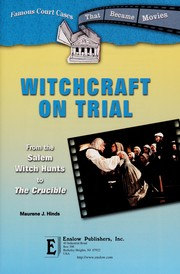 Cover of: Witchcraft on trial | Maurene J. Hinds
