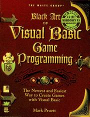 Cover of: Black art of Visual Basic game programming