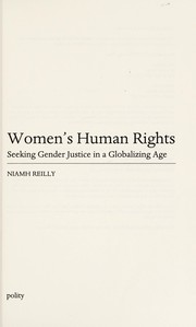 Cover of: Women's human rights