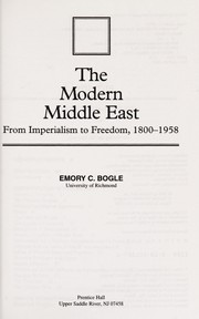 Cover of: Modern Middle East, The