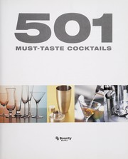 Cover of: 501 must-taste cocktails | Emma Beare