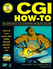 Cover of: CGI how-to