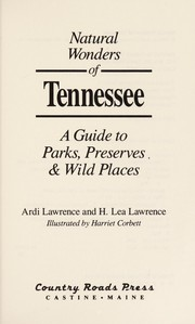 Cover of: Natural wonders of Tennessee | Ardi Lawrence