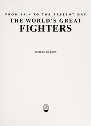Cover of: The world's great fighters