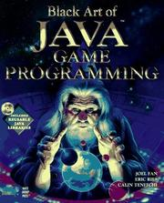 Cover of: Black art of Java game programming