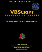 Cover of: VBScript interactive course