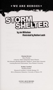 Cover of: Storm shelter | Jon Mikkelsen