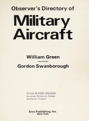 Observers directory of military aircraft