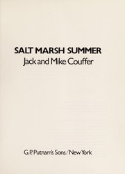 Cover of: Salt marsh summer | Jack Couffer