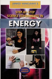 Cover of: Step-by-step science experiments in energy