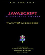 Cover of: JavaScript interactive course