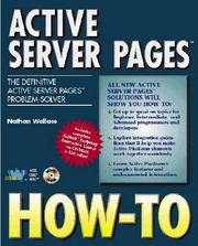 Cover of: Active Server pages how-to