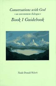 Cover of: Conversations with God, Book 1 Guidebook: An Uncommon Dialogue
