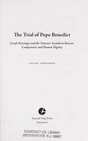 Cover of: The trial of Pope Benedict