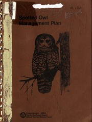 Cover of: Interim spotted owl management plan for the Gifford Pinchot National Forest | Dennis Mengel