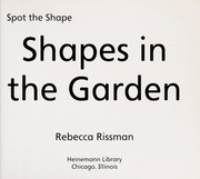 Cover of: Shapes in the garden