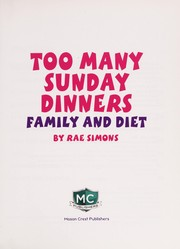 Cover of: Too many Sunday dinners