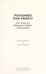 Cover of: Poisoned for profit | Philip Shabecoff