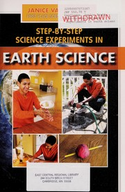 Cover of: Step-by-step experiments in earth science