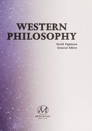 Cover of: Western philosophy | David Papineau