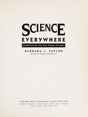 Cover of: Science Everywhere