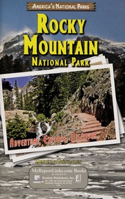 Cover of: Rocky Mountain National Park | Doreen Gonzales