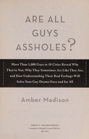 Cover of: Are all guys assholes? | Amber Madison