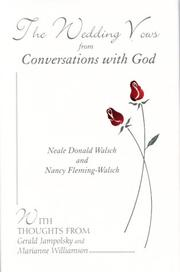 Cover of: The wedding vows from conversations with god