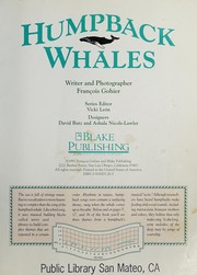 Cover of: Humpback Whales (Marine Life Srs.)