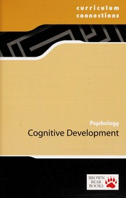 Cover of: Cognitive development