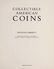 Cover of: Collectible American Coins | Kenneth E. Bressett