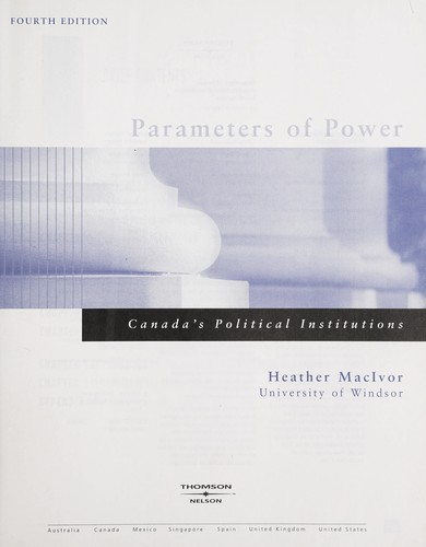 Parameters of power by Heather MacIvor