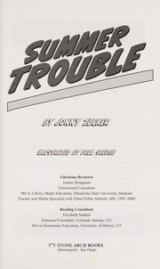 Cover of: Summer trouble