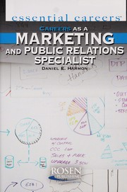 Cover of: Careers as a marketing and public relations specialist | Daniel E. Harmon