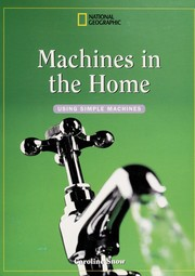 Cover of: Machines in the home | Caroline Snow