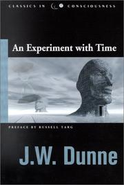 Cover of: An experiment with time