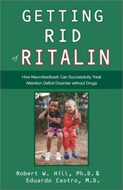 Cover of: Getting Rid of Ritalin | Robert W. Hill