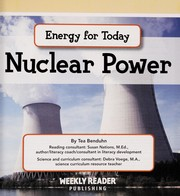 Cover of: Nuclear power | Tea Benduhn