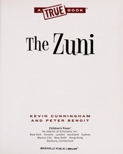 Cover of: The Zuni | Kevin Cunningham