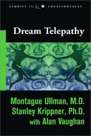 Dream telepathy by Montague Ullman