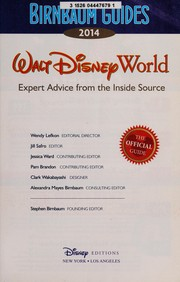 Cover of: Walt Disney World 2014