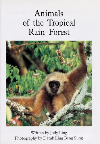Animals of the tropical rain forest by Judy Ling