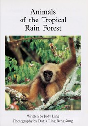 Cover of: Animals of the tropical rain forest | Judy Ling