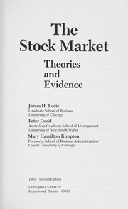Cover of: The stock market | James Hirsch Lorie