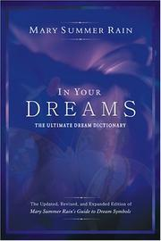 Cover of: In your dreams