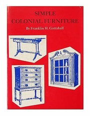 Cover of: Simple colonial furniture
